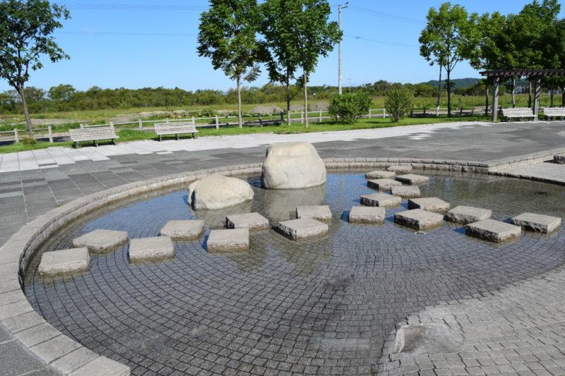 飛び石(渡り石)