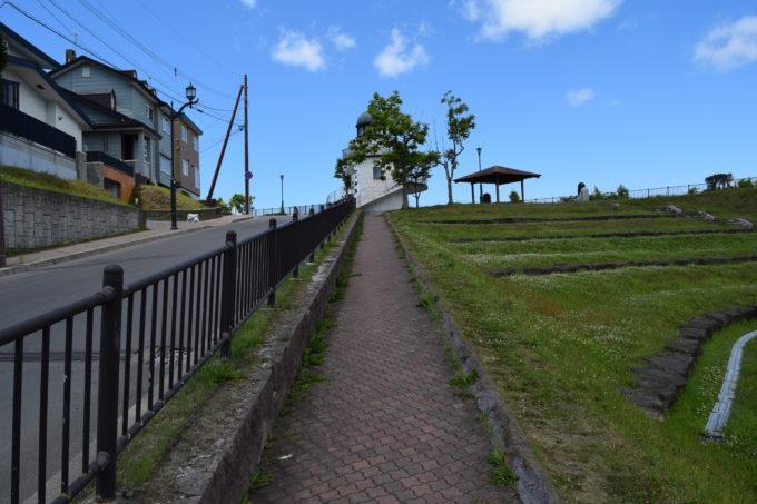 米町公園スロープ