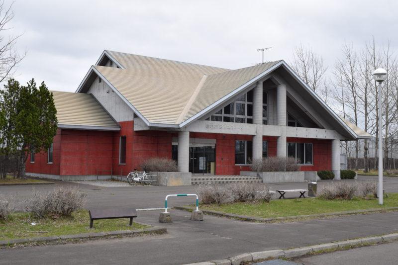 釧路市民テニスコートのクラブハウス。