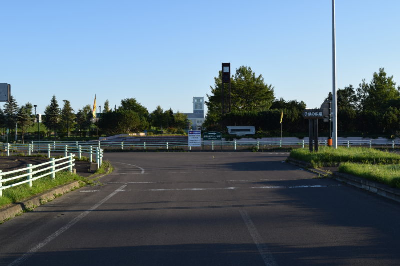 釧路大規模運動公園の正門