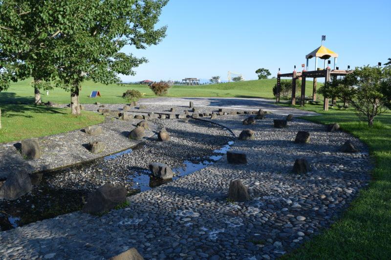 釧路大規模運動公園の遊水場