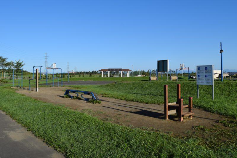 釧路大規模運動公園の運動広場