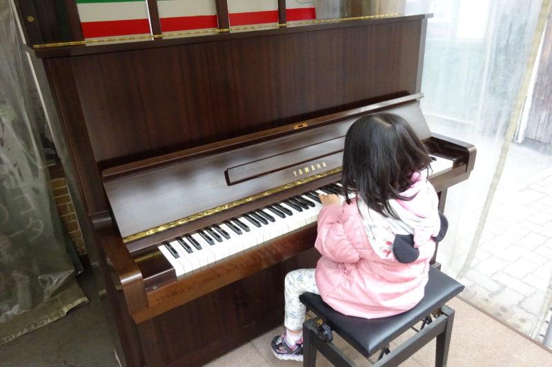 小樽サンモール一番街ストリートピアノ