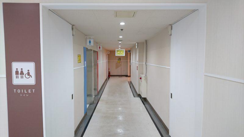 ピッピちとせがある3階のトイレ