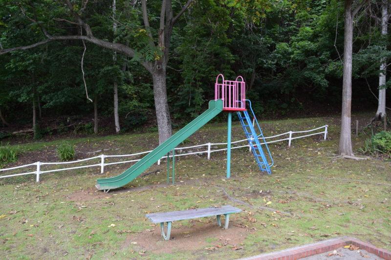 西野すみれ公園滑り台