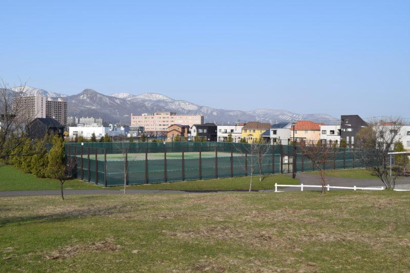 明日風公園テニスコート
