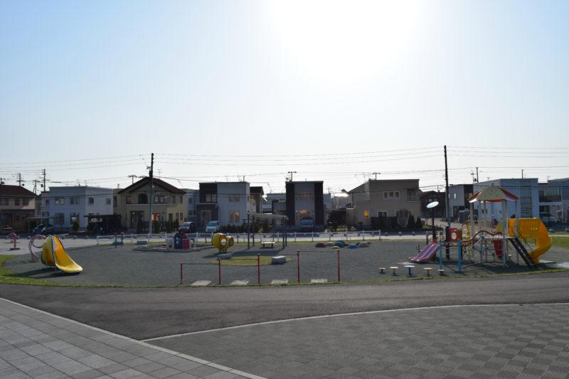 明日風公園の幼児遊戯広場