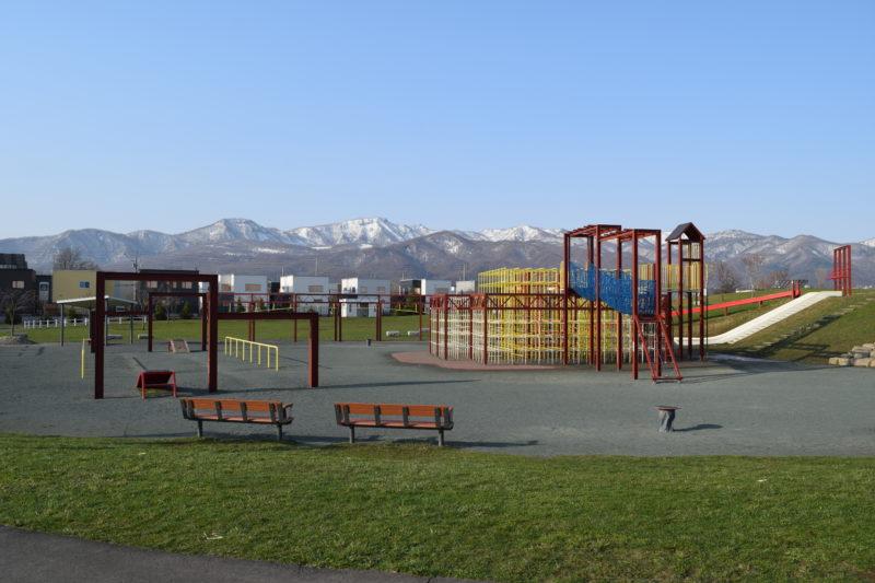 明日風公園の児童遊戯広場