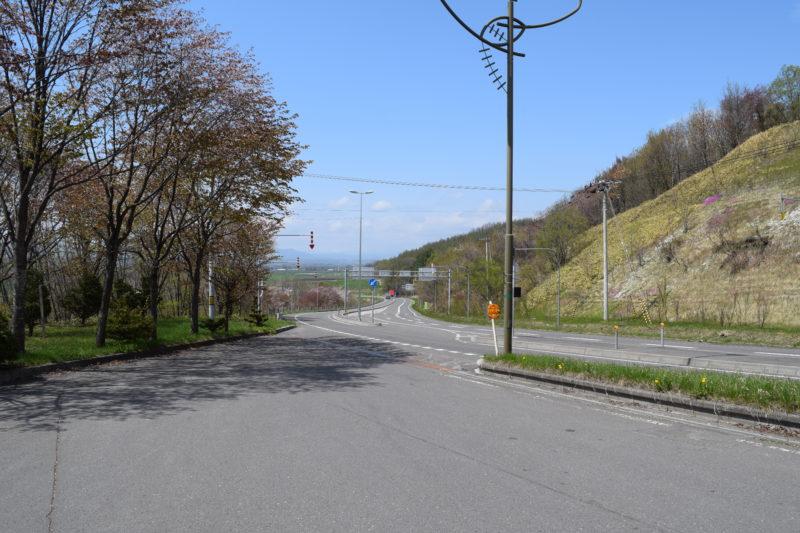 清水町方面の国道274号