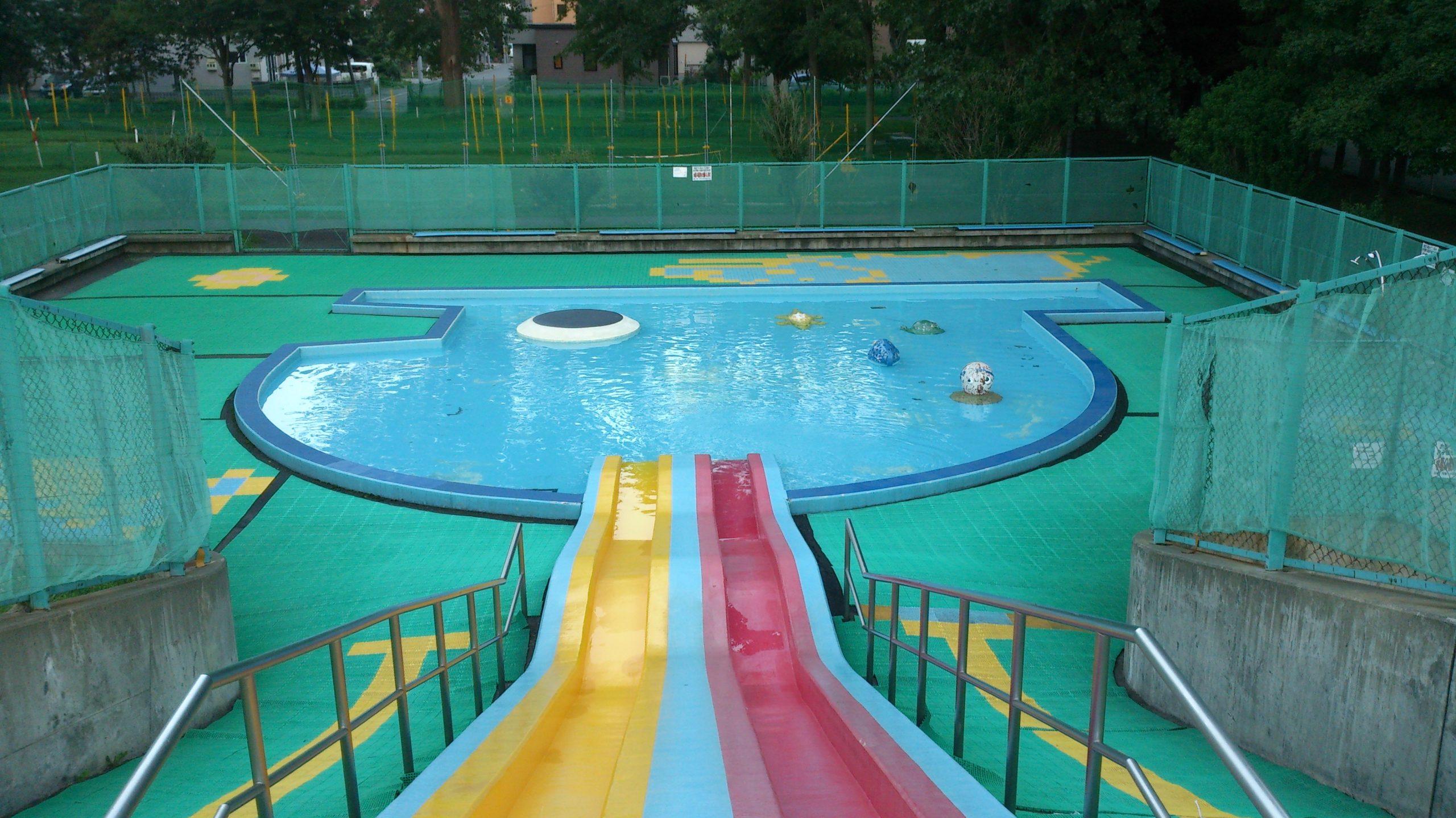 札幌市内のウォータースライダーがある公園一覧