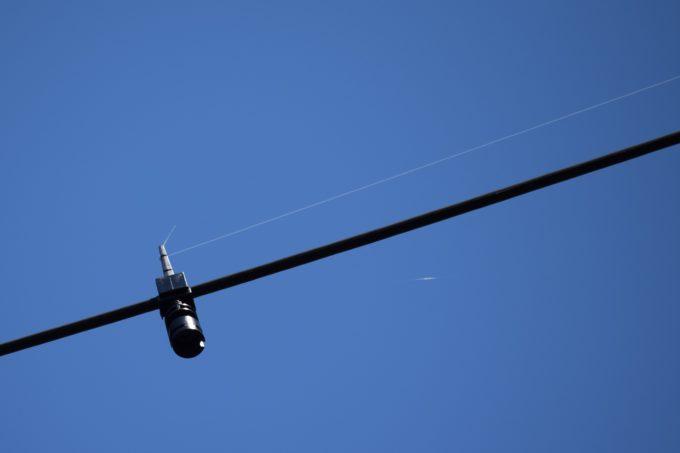鳥害被害による電線への防鳥対策工事を北海道電力へ依頼