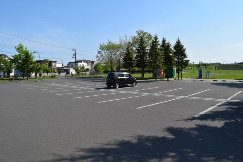 石狩ふれあいの杜公園西駐車場