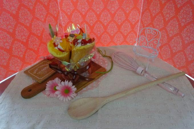 ルタオ母の日親子ケーキ作り体験