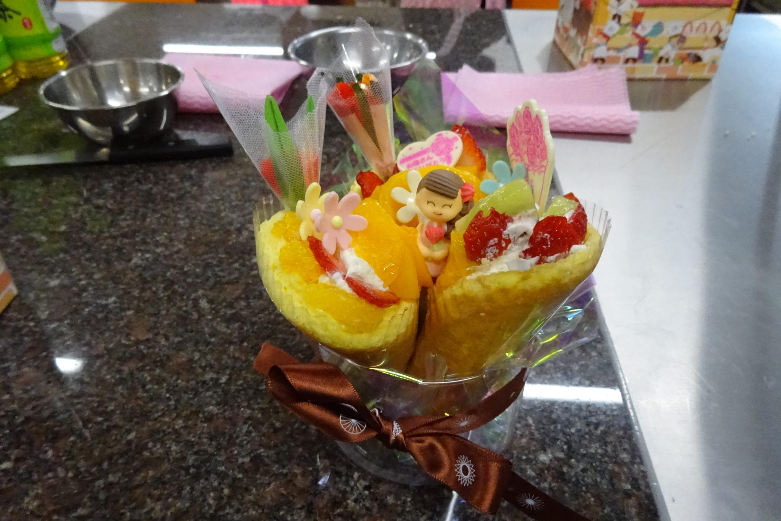 ルタオ「親子で作る母の日ケーキ作り体験」