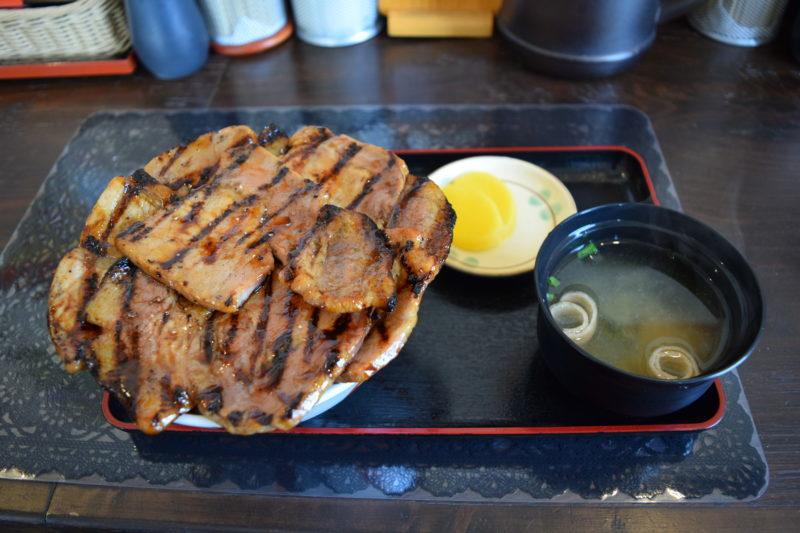 ぶたいち「ロース豚丼」大盛