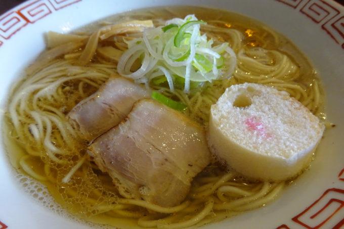 おお田ラーメン店の淡口醤油ラーメン