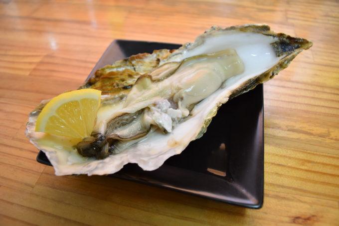 活牡蠣刺身