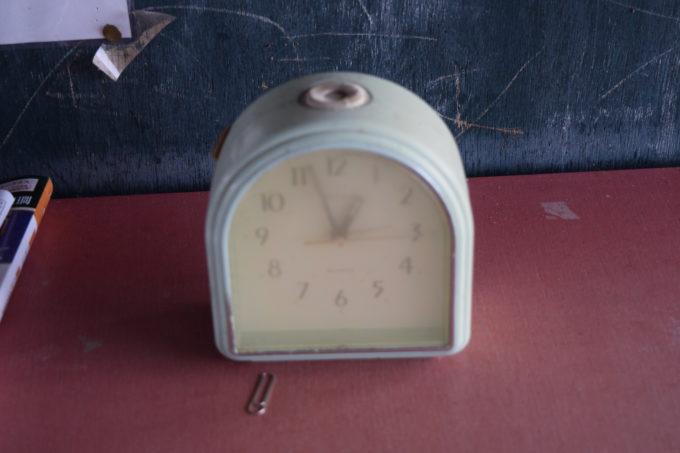 十弗駅の時計