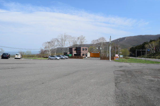 藤原工業の現場事務所