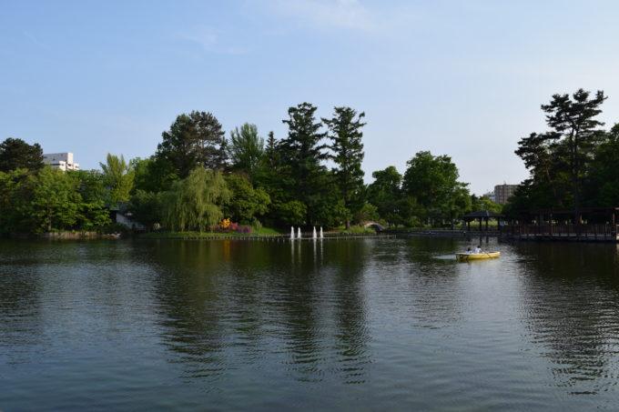 常磐公園ボート