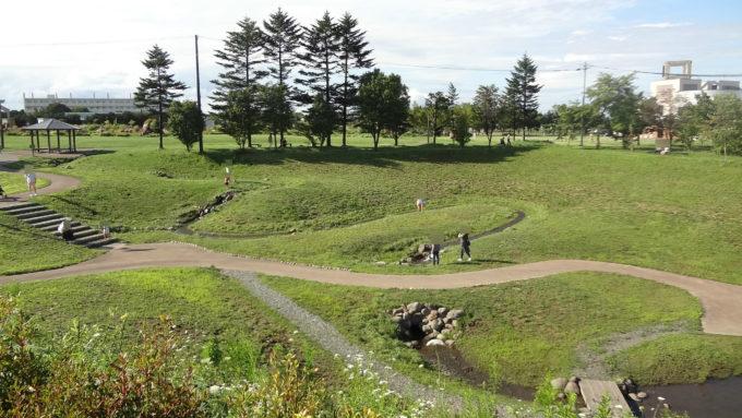 北海道恵庭市の公園・緑地一覧