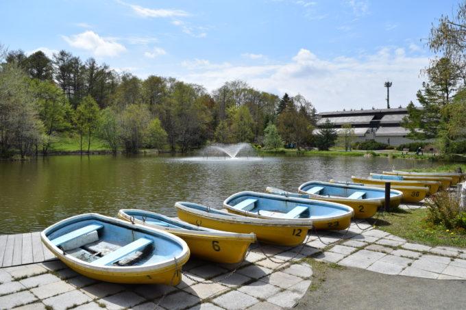 北海道の貸しボートがあるボート池一覧