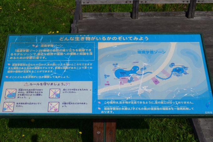 環境学習ゾーンの説明