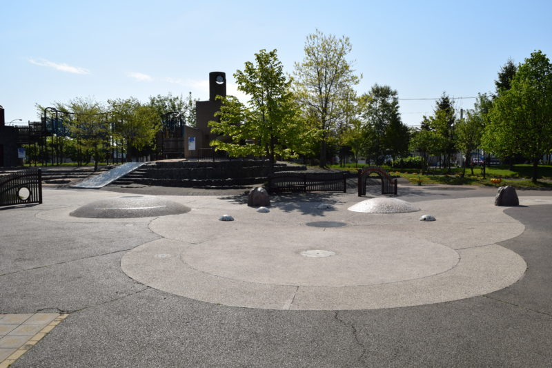 石狩ふれあいの杜公園の徒歩池