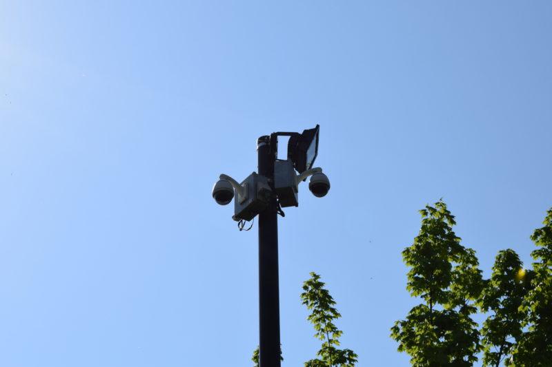 石狩ふれあいの杜公園の防犯カメラ