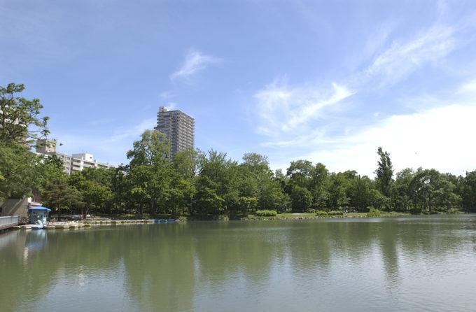 中島公園ボート池