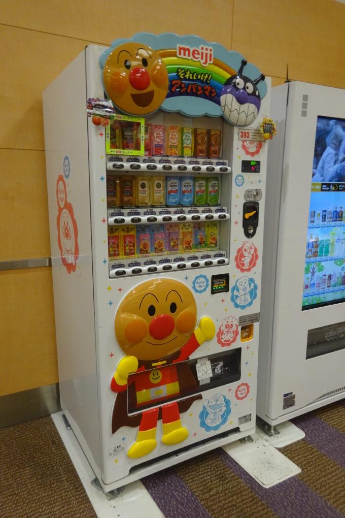 明治「アンパンマン自動販売機」