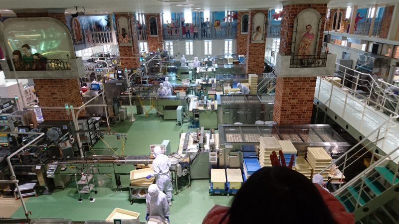 北海道の工場見学
