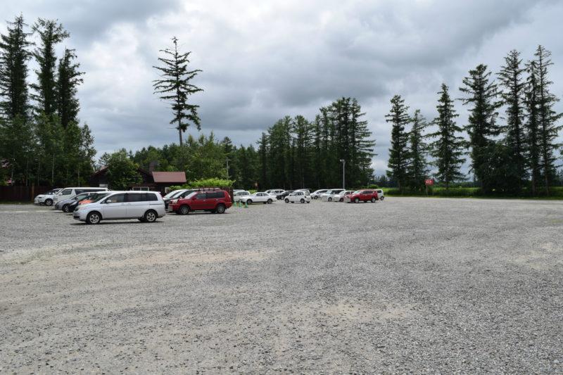 花畑牧場第2駐車場