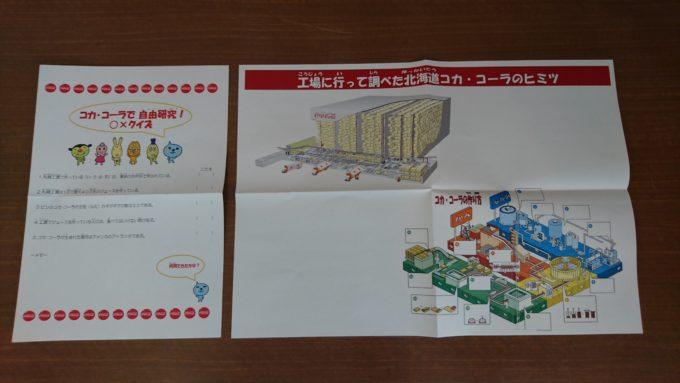 自由研究の課題に最適な「コカコーラで自由研究!○×クイズ」と「工場に行って調べた北海道コカ・コーラのヒミツ」