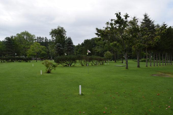 ナウマン公園パークゴルフ場ファミリーコース