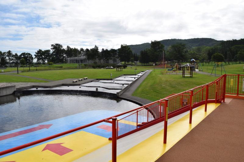 ナウマン公園遊水路