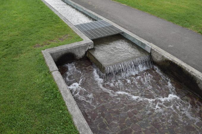 さらに狭くなる遊水路