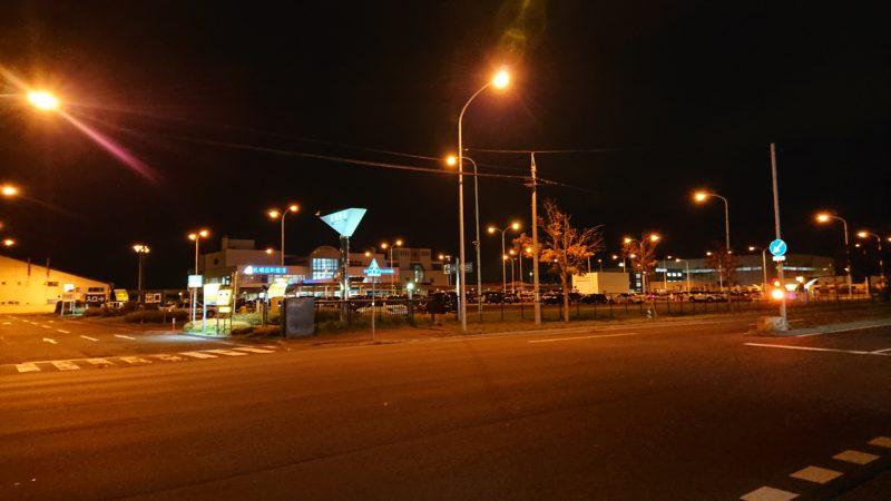 夜の札幌丘珠空港