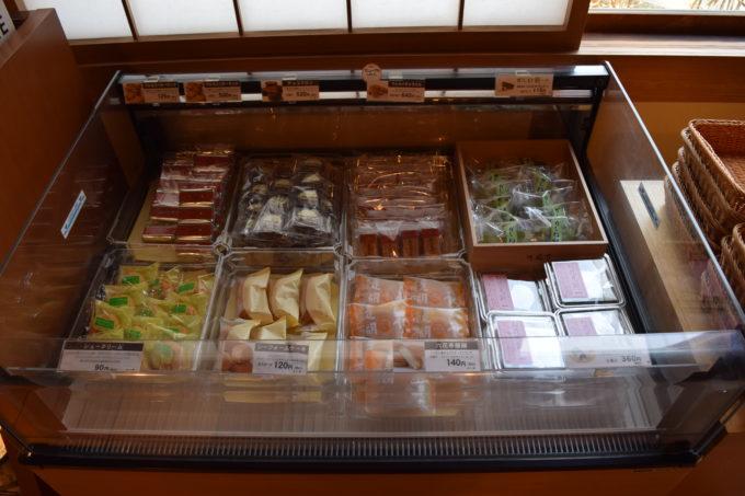 六花亭の冷蔵商品