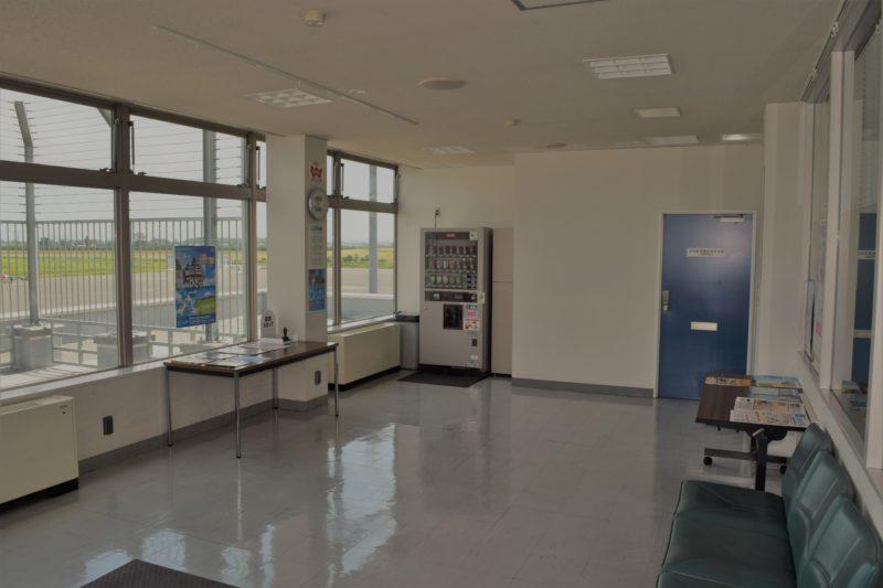 丘珠空港見学者ホール(展望室)