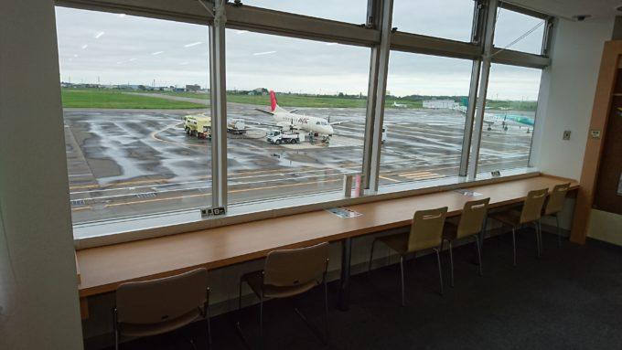 丘珠空港2F札幌いまむかし探検ひろばにある無料の電源コーナー