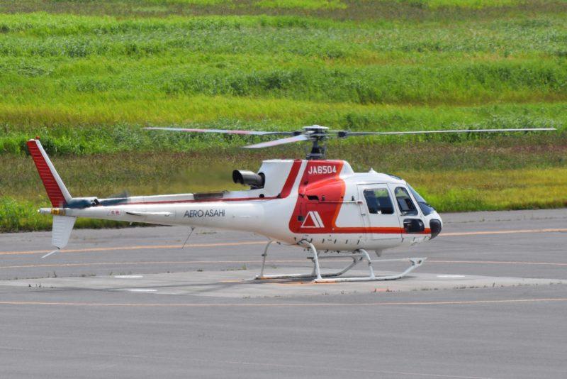 朝日航洋(AERO ASAHI)ヘリコプター「JA6504」
