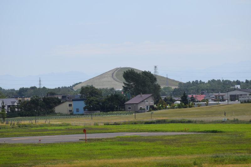 標高62メートルのモエレ山