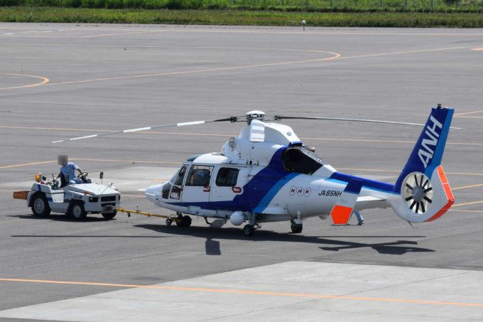 オールニッポンヘリコプター(ANH)のNHK取材用ヘリコプター「JA65NH」