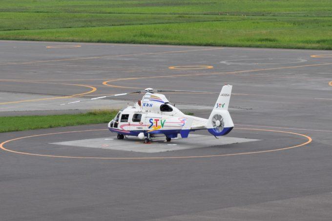 日本ニュースネットワーク(NNN)系列のSTV報道ヘリ「JA005H」