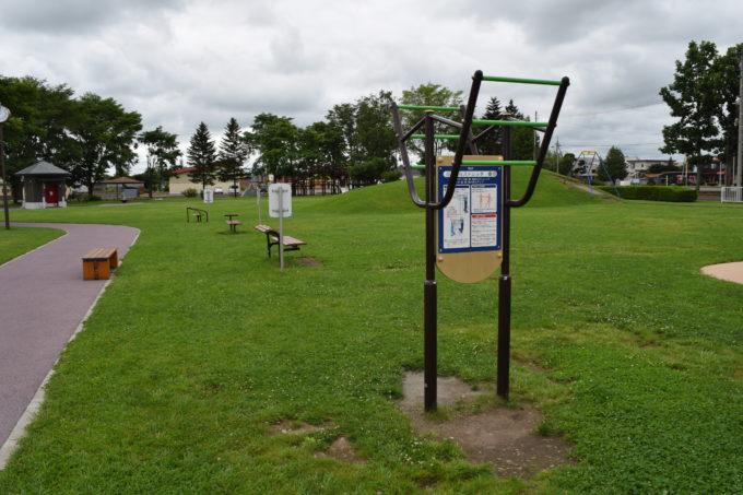 更別農村公園健康遊具