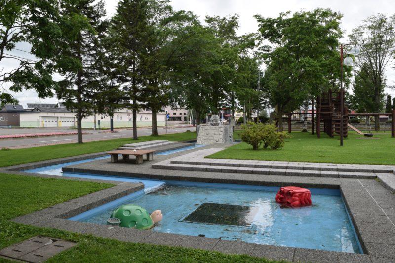 更別農村公園の徒歩池・遊水路