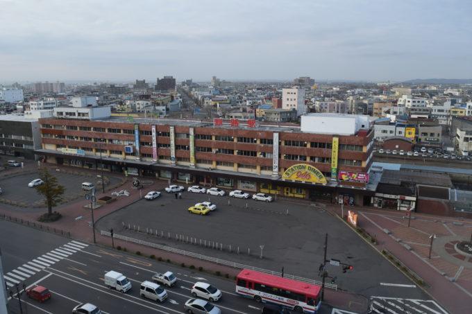 JR釧路駅の周辺地図・構内図
