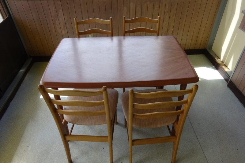 たこ将軍釧路星が浦店テーブル