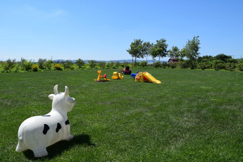 あぜっこの芝生スペース